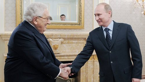 Kissinger y Putin